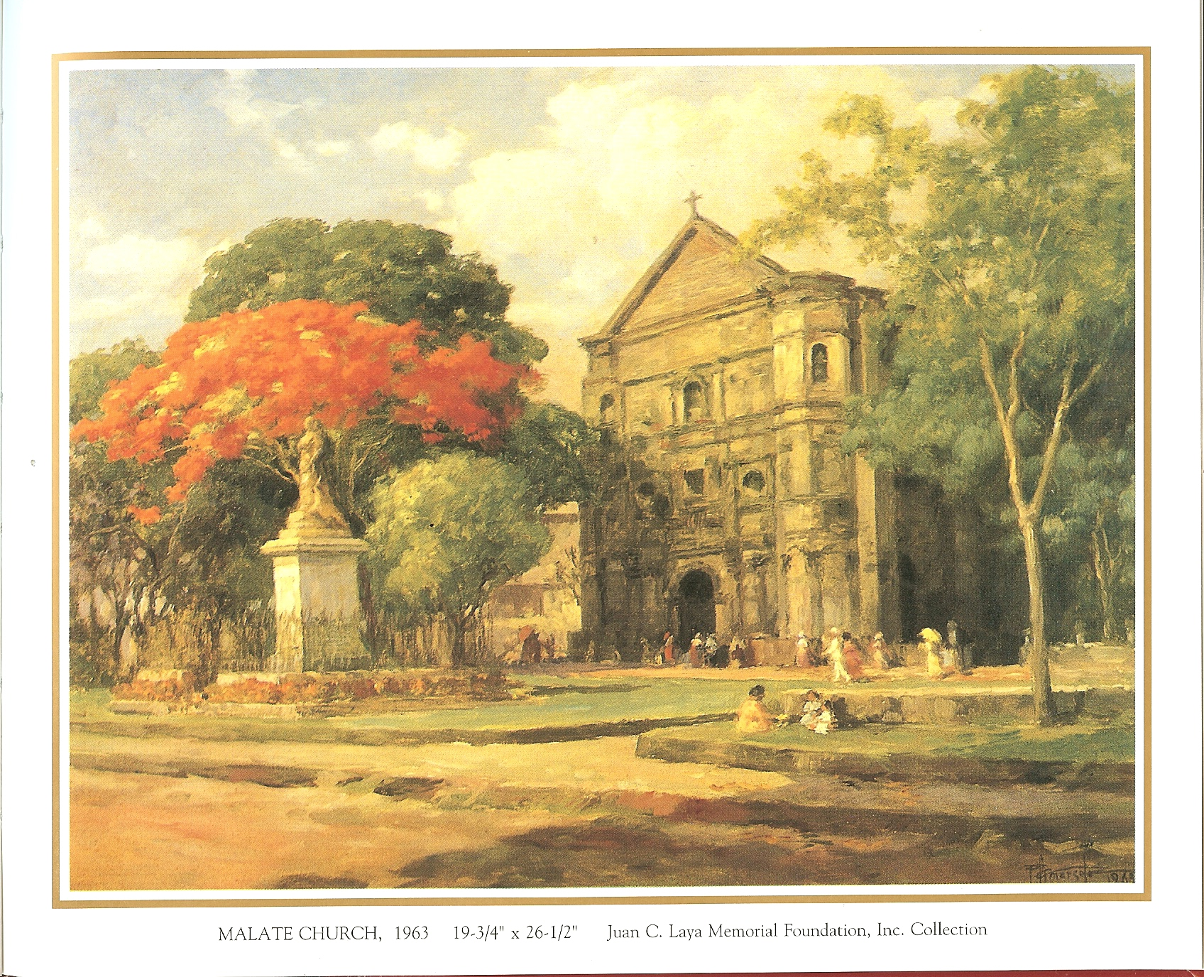 Location of the paintings of Fernando amorsolo