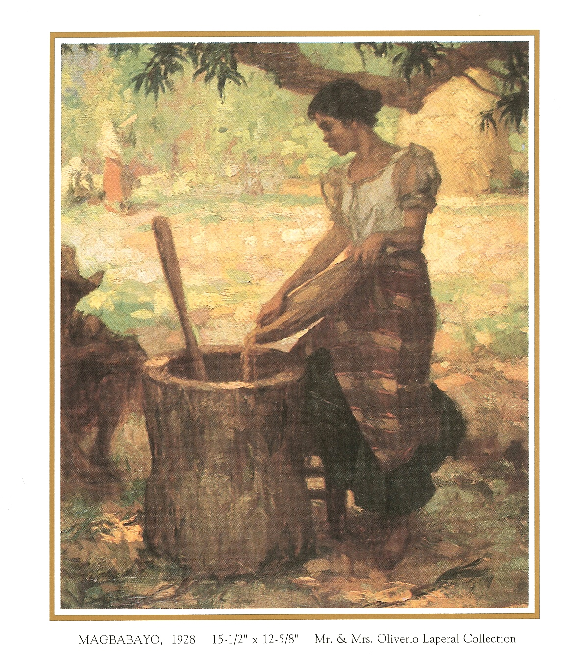 Amorsolo Fernando famous artist,art gallery, oil paintings