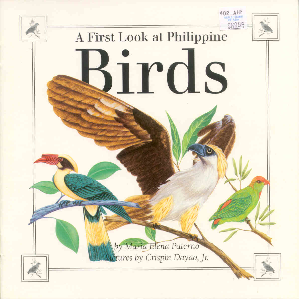 Book Cover Design Of Birds : First look